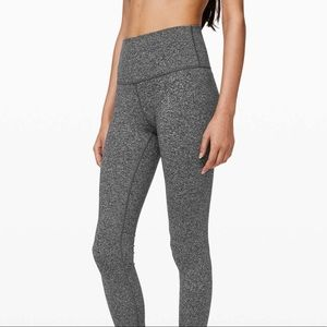 Lululemon Wunder Under 7/8 High Rise Grey 4